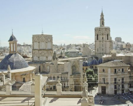 Admire Valencia's panoramic view from Michalet